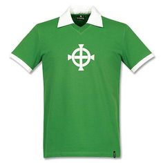 Camiseta Retro de Irlanda del Norte 1977 Local