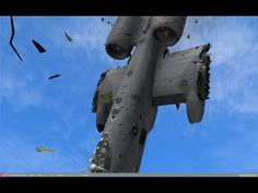 A-10 in Action With Awesome Sound - Fairchild Republic A-10 Thunderbolt II During Training - YouTube
