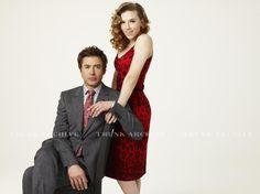 Robert Downey Jr. And Scarlett Johansson