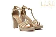V45- Sandal in  waxy leather covered heel 10  color desert