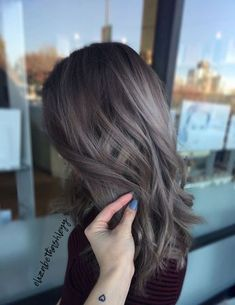 Cute Ash Brown Hair Color Ideas