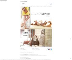 #mail #e-mail #mailing #email #newsletter #design #fashion #marketing #shoes #dsw