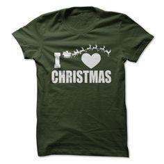 I Love Christmas T Shirt, Hoodie, Sweatshirt