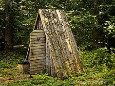 A Frame Outhouse