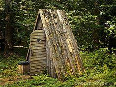 A Frame Outhouse