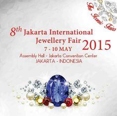 Jakarta International Jewellery Fair 2015. Dapatkan 1000 suvenir setiap harinya, Lucky Draw, Mr. Goldman, Grand Prize Perhiasan dan lainnya.