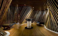 Lobby at Bamboo Spa by L'Occitane. Jimbaran Bay Bali