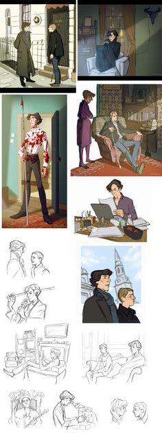 "Disney Sherlock – Reminds me a bit of ""101 Dalmatians"""