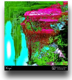"""Kiya"" 20173 by Dean Copa. Art Series, New Media, Dean, Mystic, Northern Lights, Fine Art, Photography, Travel, Painting"