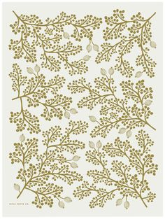 Rifle Paper Golden Berries Wrapping Paper - back pattern for reception card (inspiration)