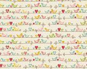 Sweetest Bird Cream Riley Blake Fabrics 1 Yard