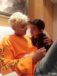 BoXuan weibo update with Tao. Chanyeol, Tao Exo, Korean Boy, Exo Korean, 2ne1, Sekai Exo, Jung Jin Woo, Got7, Rapper