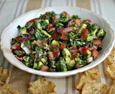 If you're a salsa fan then you need to try avocado cilantro salsa. Perfect for the warmer months when the produce is at its freshest. You control the heat.