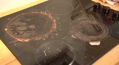 Une super recette pour nettoyer la cuisinière en céramique!