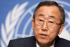 Ban-Ki-Moon - Ocultar armas en las instalaciones de la ONU utilizadas como refugios de emergencia creó un riesgo.