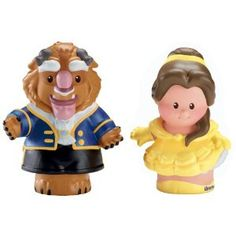 Fisher-Price Little People Disney 2 Pack: Belle and Beast