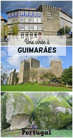 Guimaraes, une belle destination à une heure de Porto. Le berceau du Portugal, un château du Moyen-Age et une colline aux merveilles.