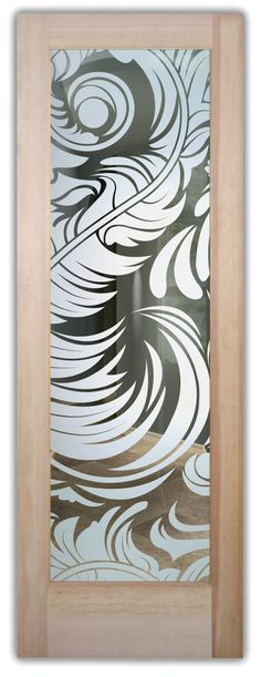 Shop our glass entry doors. Customize your glass doors with a wide variety of quality designs to fit any decor. Start exploring your glass doors options now! Exterior Doors With Glass, Entry Doors With Glass, Glass Front Door, Glass Doors, Front Entry, Front Doors, Art Deco Borders, Winter Trees, Frosted Glass