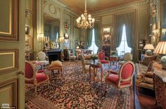 Drawing room of the Stanford White mansion. 973 Fifth Avenue. Stanford White, White Mansion, Expensive Houses, Gilded Age, Classic Interior, Historic Homes, Beautiful Interiors, French Interiors, Decoration