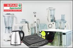 #SPARDealsOnKitchenAppliances Special deals, discounts & offers on Kitchen Appliances like microwave ovens, grinders, mixers,cooktops, blenders, pressure cookers and more! Great prices on top brands. Only at SPAR hypermarkets.