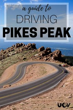 Driving Pikes Peak - Tips On Driving Up Pikes Peak Driving Pikes Peak just outside Colorado Springs, Colorado is a great way to see a fourteener if you are short on time or with the family. Chile Colorado, Estes Park Colorado, Winter Park Colorado, Pueblo Colorado, Telluride Colorado, Breckenridge Colorado, Denver Colorado, Road Trip To Colorado, Visit Colorado