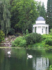 Ein schöner Ort in unserer Stadt der Liebe (Schlosspark Wilhelmshöhe)