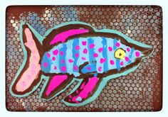 Gr. 1: Bio-luminescent Fish | WEST MIDDLETON ART SMARTIES