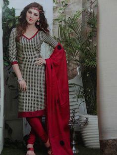 Bollywood | Designer | Cotton | Unstiched | Printed Cotton Suit | Salwar Kameez