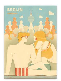 dreaming of a summer in berlin. #germany #design #berlin