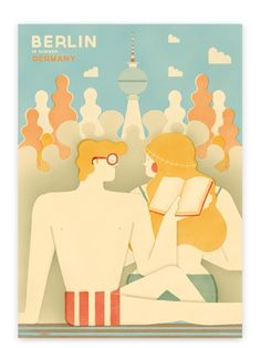 Berlin Poster #1 (50x70cm)