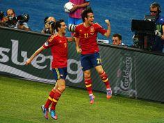 David Silva - Spain v Italy - UEFA EURO 2012 Final