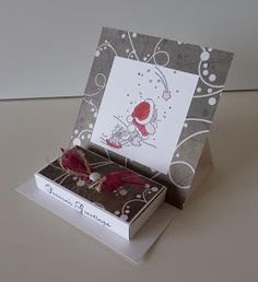 Xmas Cards, Mini Albums, Stampin Up, Sketches, Gift Wrapping, Gifts, Diy, Images, Match Boxes