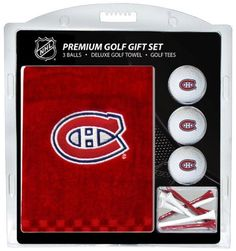 NHL Montreal Canadiens Embroidered Towel Gift Set by Team Golf. NHL Montreal Canadiens Embroidered Towel Gift Set.