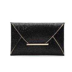 luxury shiny hand bags big envelope clutch bag glitter ladies wedding bags evening bags for women party black purse handbag