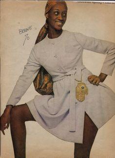 Princess of Toro in Geoffrey Beene,1970