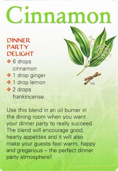 dinner party essential oil blend. www.mydoterra.com/melodythompson