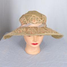 Edwardian wide brimmed hat