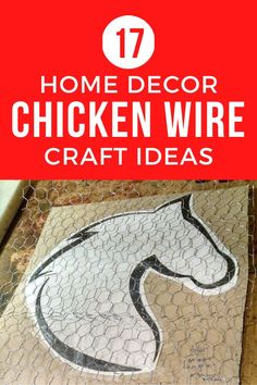 Farmhouse decor is so popular and all you really need to do is add some Chicken wire crafts to your home decor and you can decorate like Joanna Gaines on a budget. Check out these easy chicken wire craft projects that quick and simple and super creative. #diy #chickenwirecrafts #diyhomedecor Crafts To Make And Sell, How To Make Paper, Diy And Crafts, Chicken Wire Crafts, Cool Chandeliers, Making Paper Mache, Old Lamp Shades, Cool Shapes, Old Lamps