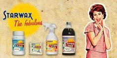 Kit Starwax the Fabulous - produits d'entretiens - produits de ménage - produits naturels pour le ménage - Marque Starwax
