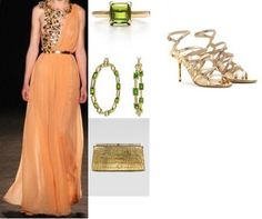 Ksenia-Bradner's stylebook at ShopStyle: Ksenia Bradner in Christopher Josse Spring 2012 Couture on shopstyle.com