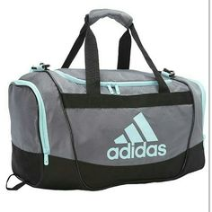 adidas blue duffle bag