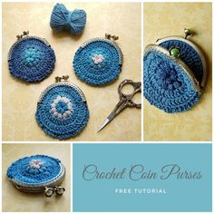 Coin purses are a fun way to use up bits of yarn while also making something useful. Here's how I make mine with sew in kiss clasp frames.