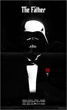 """The Father"" - Star Wars Godfather Movie Poster"