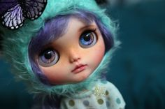 RESERVED for A. ~ Tegan - custom Blythe Doll by Blue Butterfly Dolls