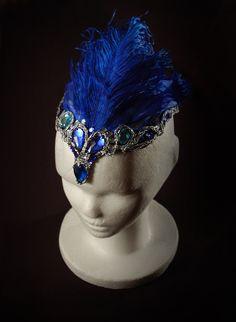 Tocado · Pájaro Azul · Blue Bird · Ballet · Bella Durmiente · Sleeping Beauty · Costume Designer · Diseño de Vestuario: Ana Carolina Figueroa