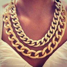 gold chains | Tumblr