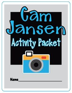 Cam Jansen Activity Packet - can be used with any Cam Jansen book   (same packet - new cover)