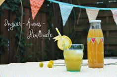 Inger-Ananas-Limonade | Rezept