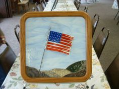 Grand Old Flag by bcxpressions glass shoppe. From Delphi's Artist Gallery.