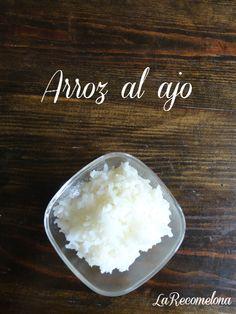 Rica y fácil receta! Pruebala! #LaRecomelona #Garlic #Ajo #FoodBlogger
